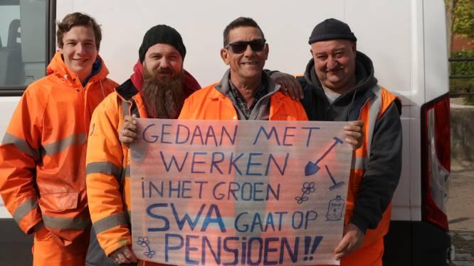"""Groenarbeider François bergt hark en spade na 38 jaar op: """"Werkmakkers en babbels met inwoners zal ik meest missen"""""""