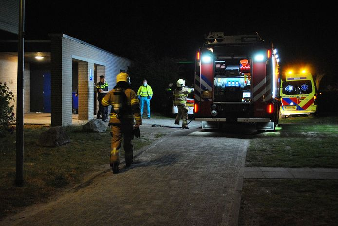 Brand op terrein De La Salle in Boxtel.
