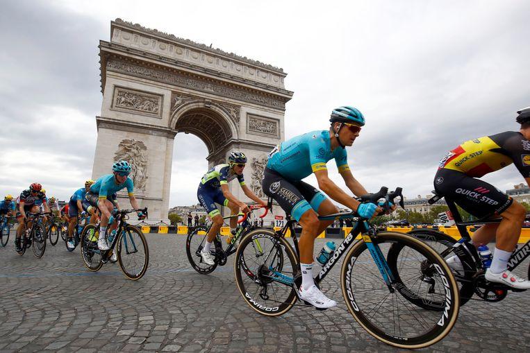Jakob Fuglsang is een van de kanshebbers om de Vuelta te winnen. Beeld Photo News