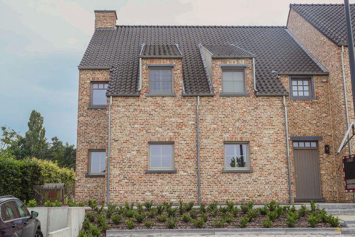 Het huis op Schoolstraat 8 in Oudsbergen.