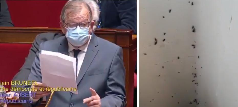 Le député PCF Alain Bruneel a interpellé mardi la ministre Frédérique Vidal sur l'état de certaines cités universitaires.