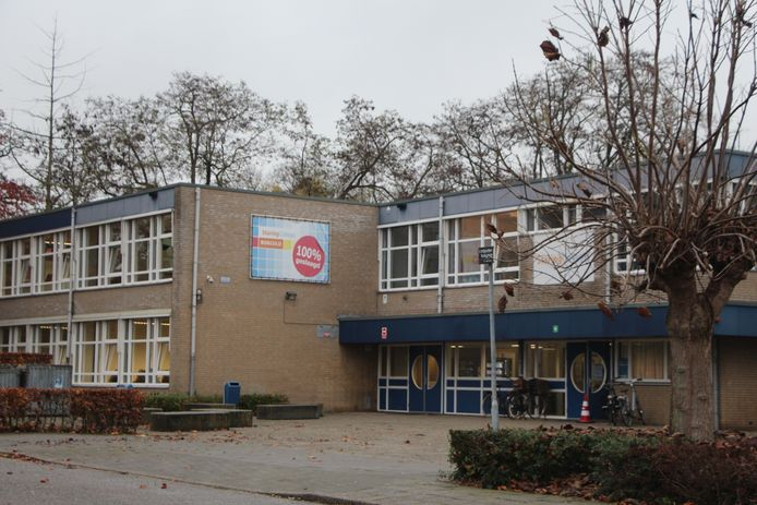 De locatie Beukenlaan van scholengemeenschap Staring College.