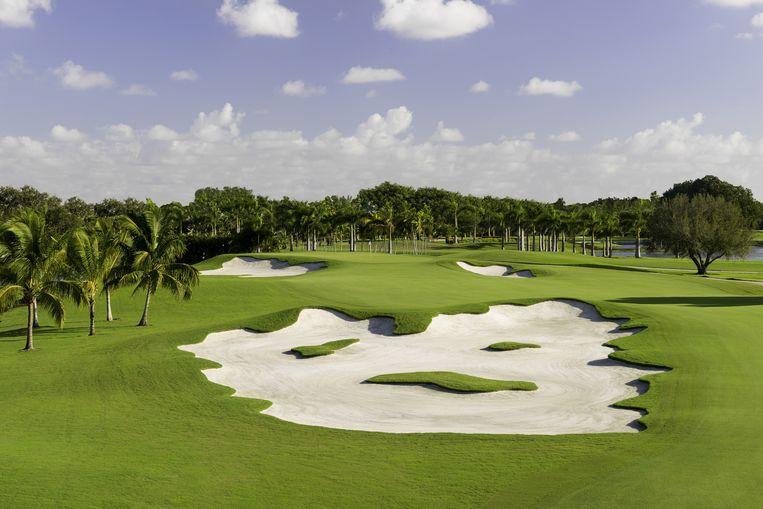 Golfcourse Blue Monster. Beeld Lynn Laureys