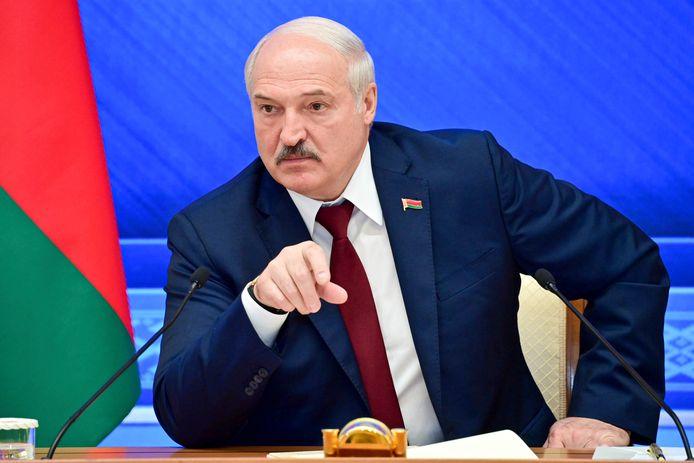 De Wit-Russische president Alexander Loekasjenko.