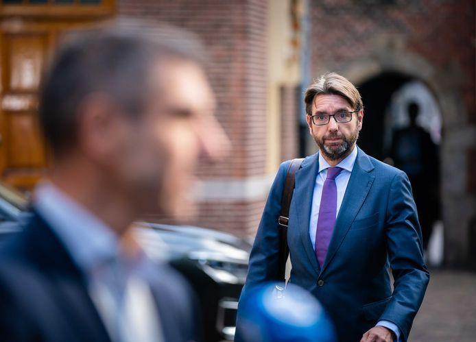 Demissionair staatssecretaris Steven van Weyenberg (D66, Infrastructuur).