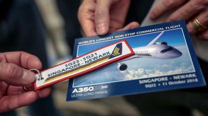 's Werelds langste lijnvlucht na trip van 19 uur aangekomen in New York