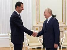 Vladimir Poutine reçoit Bachar al-Assad à Moscou