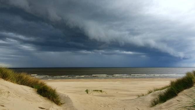 Enkele bewolkte dagen met kans op onweersbui in het vooruitzicht en temperaturen tot 22 graden