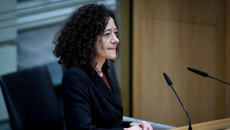 Vlaams parlementslid Yasmine Kherbache (sp.a) dient een voorstel van decreet in dat praktijktesten mogelijk moet maken. Beeld BELGA