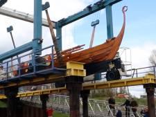 Bouwers van Vikingschip kwaad: krijgen ze wel een goede plek in de stadshaven van Wijk bij Duurstede?