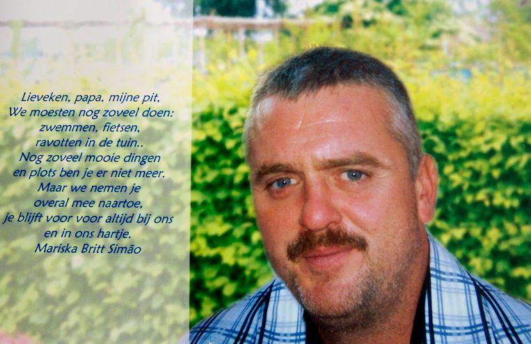 Eddy Van der Borght werd op 11 juli 2011 neergeschoten op de oprit van zijn ouderlijke woning.