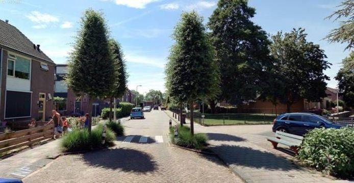 De oversteekplaats bij basisschool De Rank op de Blommendaal in Meerkerk wordt aangepast.