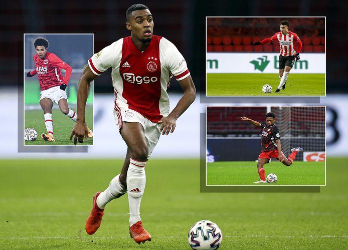 Ryan Gravenberch (Ajax). Inzetjes: Calvin Stengs (AZ), Donyell Malen (PSV) en Tyrell Malacia (Feyenoord)