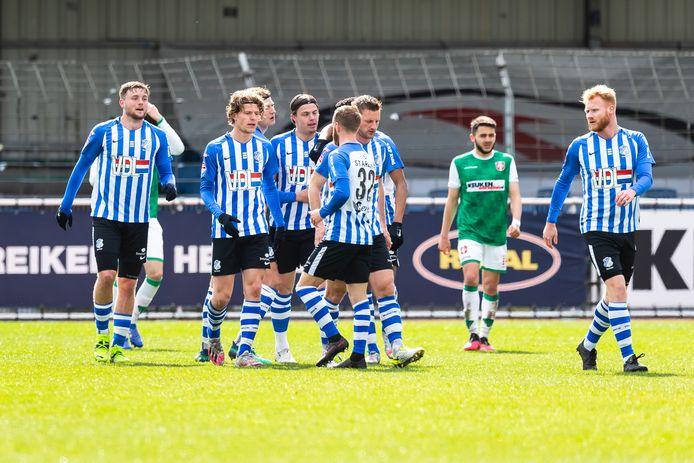 Vreugde bij FC Eindhoven
