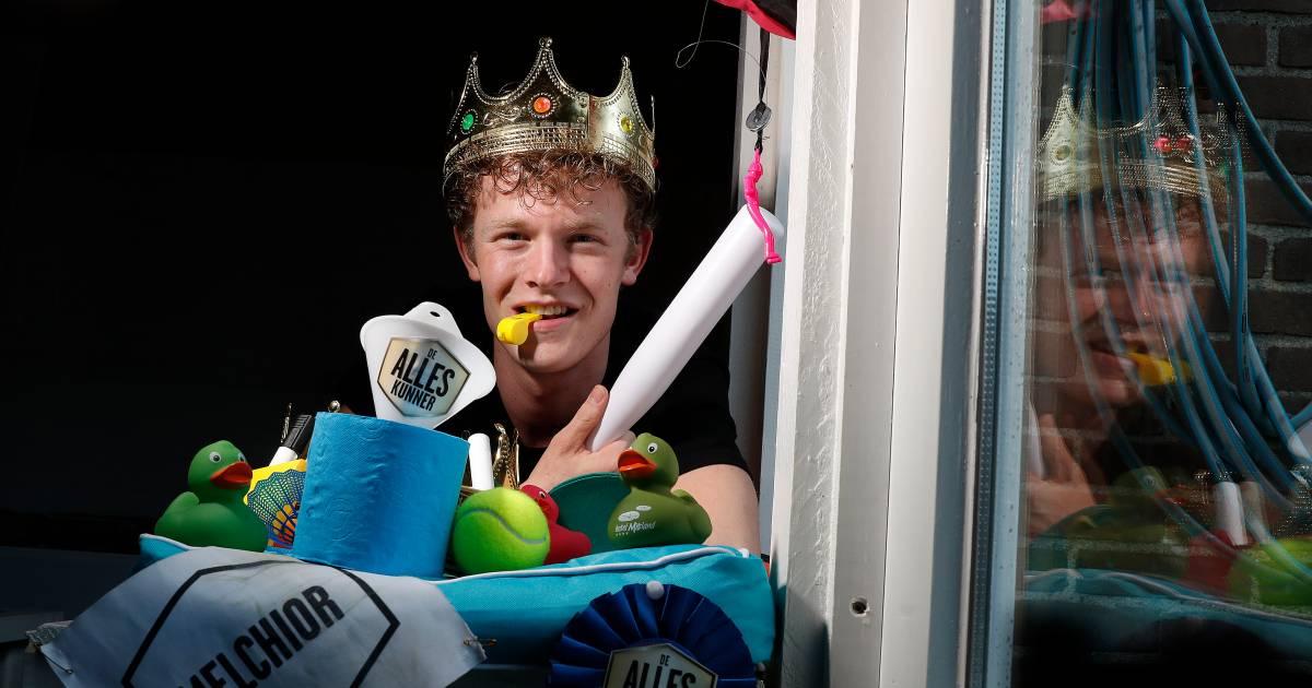 Alleskunner Melchior (22) wint SBS-programma én 'jaar lang gratis leven' - AD.nl