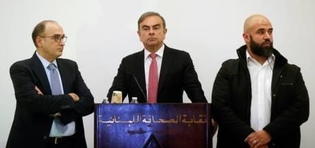Gezochte automagnaat Ghosn zegt niets over ontsnapping: 'Ik ben slachtoffer van complot'