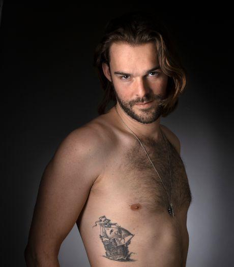 Marko heeft een piratenschip en een fietsje: 'Tattoos helpen me om belangrijke dingen te herinneren'