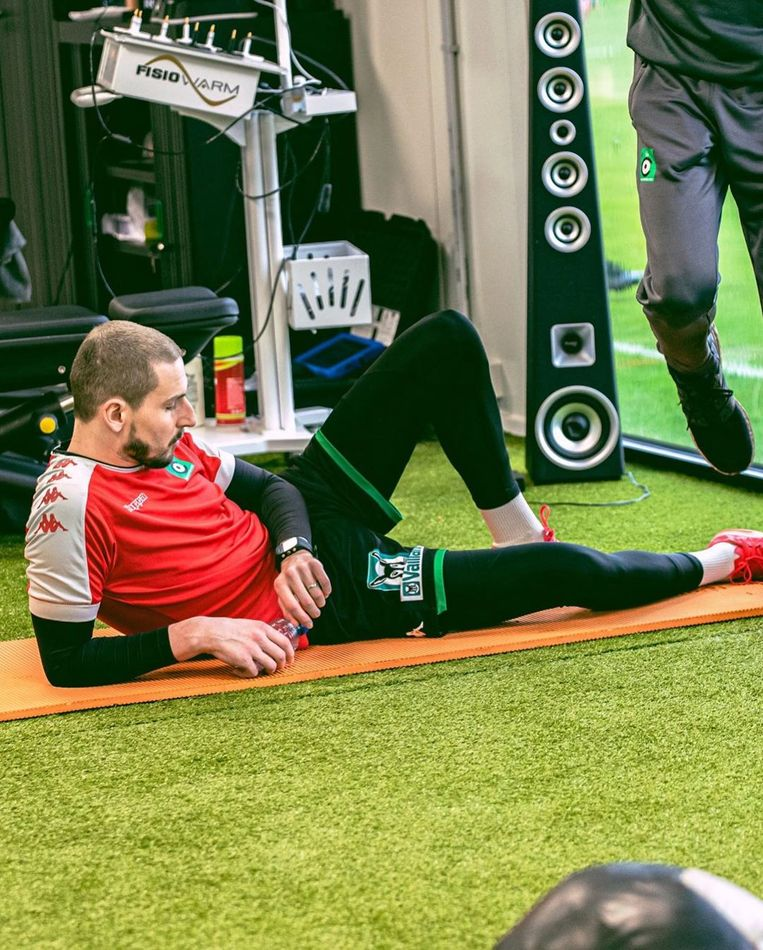 Miguel Van Damme blijft strijdvaardig in zijn strijd tegen leukemie en revalideert onder andere in de fitness