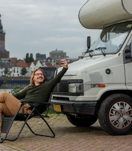 Keert de stadscamping terug in Nijmegen? 'Mensen waarderen weer het buitenleven'