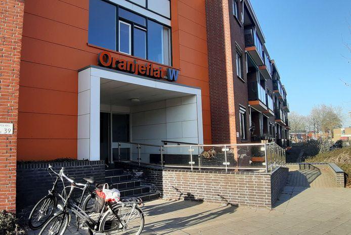 De Oranjeflat in Rijssen waar ZorgAccent kantoor houdt.