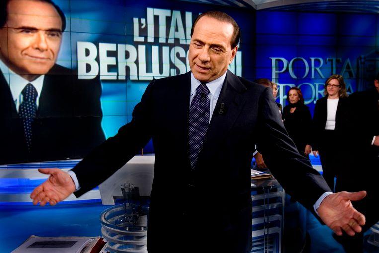 De Italiaanse zakenman en oud-premier Silvio Berlusconi. Beeld Corbis via Getty Images