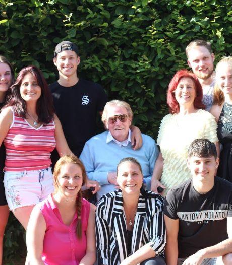 Spartaan Hans Bentzon was verknocht aan voetbal, maar bovenal aan zijn familie