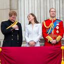 Harry, Kate en William in betere tijden.