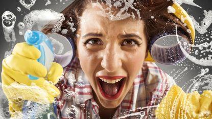 """Huis vol onzichtbaar vuil: """"Een gewoon zeepsopje is meer dan genoeg om hygiënisch schoon te maken"""""""