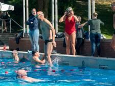 Opwinding in Klarenbeek; eindelijk kan er weer worden gezwommen