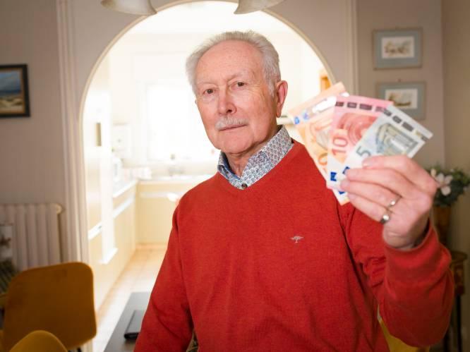 """Germain Pirlot (78) uit Oostende, de onbekende bedenker van de naam 'euro': """"Dat is toch niks om fier op te zijn?"""""""