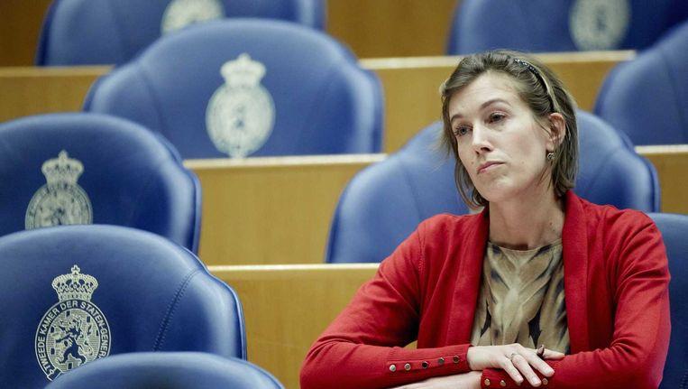 GroenLinks-kamerlid Corinne Ellemeet vroeg Teeven begin januari om het ambtsbericht te herzien. Beeld anp