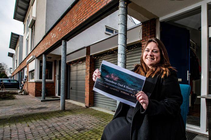Renske Zieverink uit Deventer wil op oudejaarsavond, vlak voor middernacht, bij haar voordeur aftellen met haar buren.