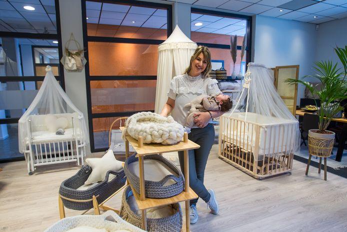 Na het succes van de webshop BabyRace, opende ondernemer Sarah Watts ook een fysieke babyboutique.