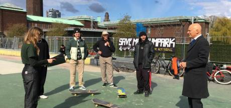 Hoop voor skaters Museumpark, wethouder gaat 'kijken wat mogelijk is'