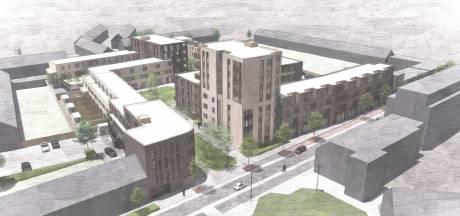 Hart van Tilburg krijgt er groene woonbuurt bij: 142 woningen op plek textielhallen Enschotsestraat