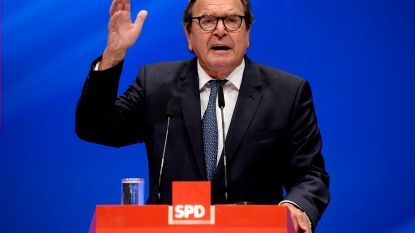 """Duitse ex-bondskanselier Schröder lobbyt voor samenwerking met Rusland: """"Europa en Rusland hebben elkaar nodig"""""""