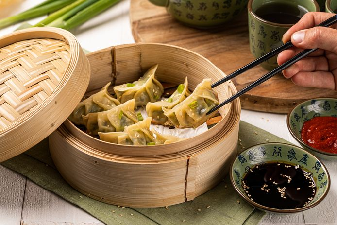 Japanse dumplings met gehakt