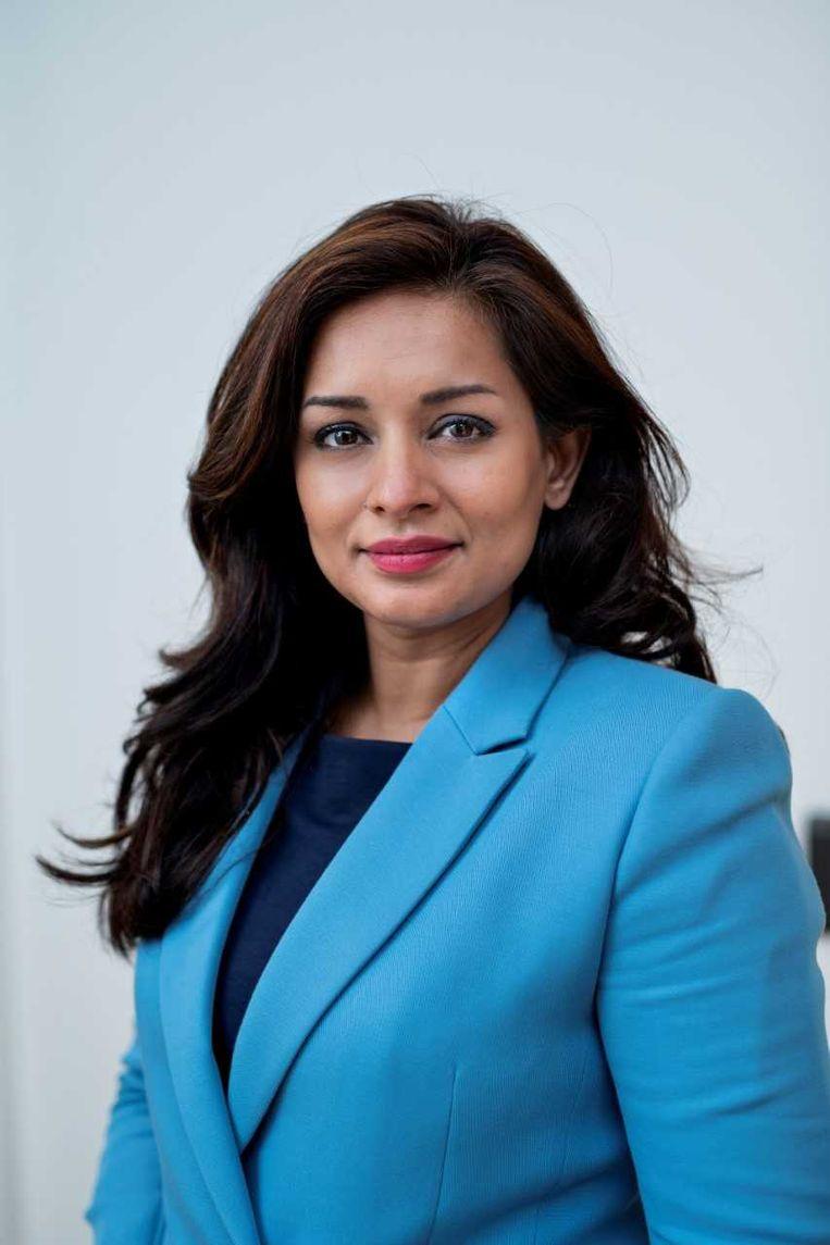 Reshma Roopram, wethouder in Barendrecht. Beeld