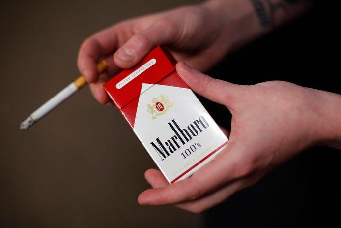 """Le patron de Philip Morris voudrait rendre sa société """"sans tabac"""", ce qui signifierait aussi la fin de la marque Marlboro."""
