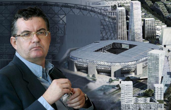 Miljardair Aat van Herk speelt een prominente rol in het verzet tegen een nieuw Feyenoord-stadion.