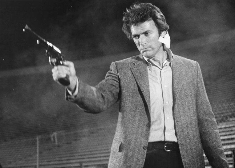 De Zodiac killer was ook de inspiratie voor veel films, waaronder Dirty Harry met Clint Eastwood. Beeld AP