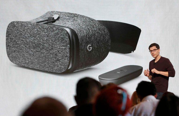 De Daydream View VR headset. Beeld REUTERS