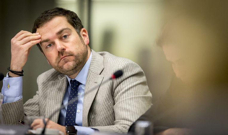 Staatssecretaris Klaas Dijkhoff van Veiligheid en Justitie. Beeld anp