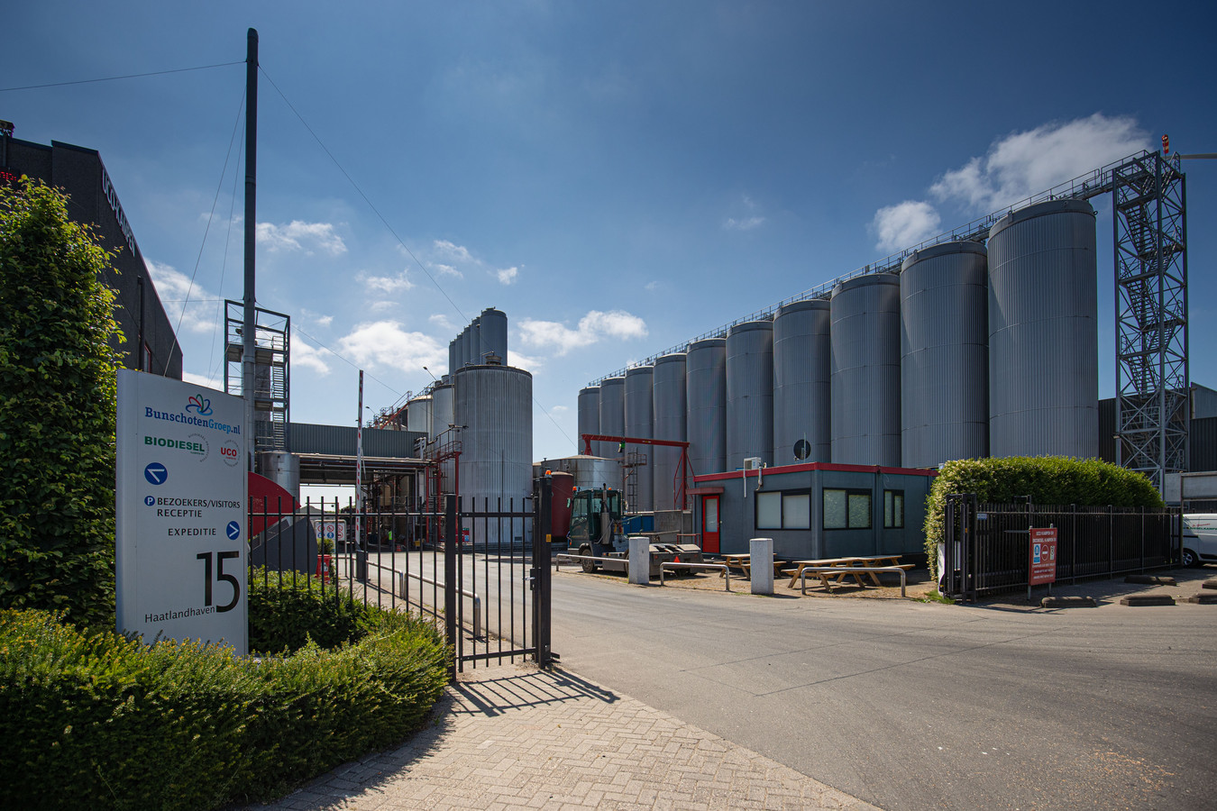 Biodiesel Kampen wordt verdacht van biodieselfraude.