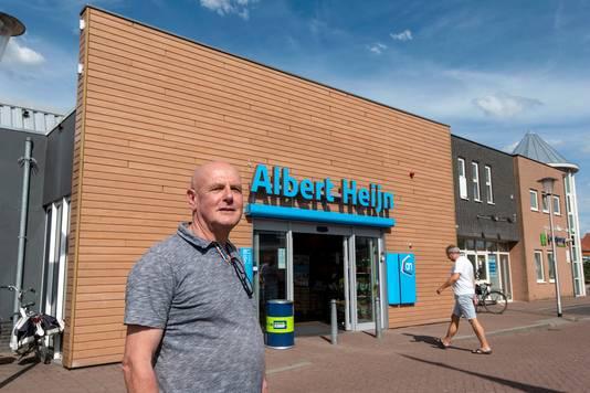 Fer Pusters uit Zetten mag een jaar lang de Albert Heijn niet in.