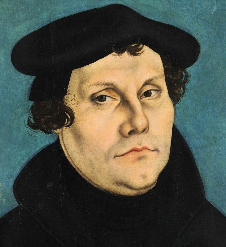 Maarten Luther. Beeld Wikimedia