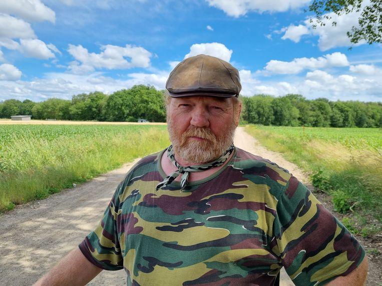 Volgens Leonard Houben heeft hij een vergunning voor al zijn vuurwapens, die hij zou verzamelen om het later duurder te kunnen verkopen. Beeld Hollandse Hoogte /  ANP