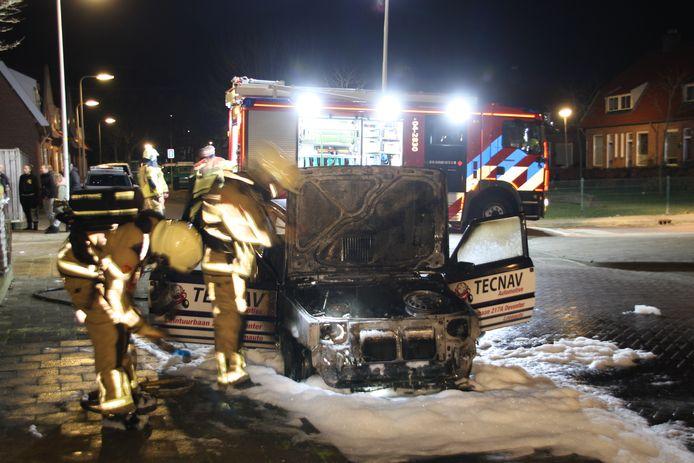 Weer waren er autobranden in Deventer.