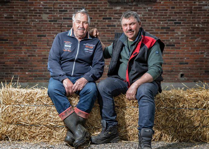 Vader Henk (77) en zoon Harrold (53) Liebeton.