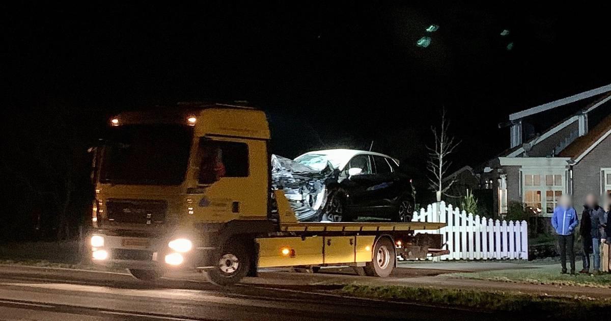 Paard overleden na aanrijding met auto in Deurningen.